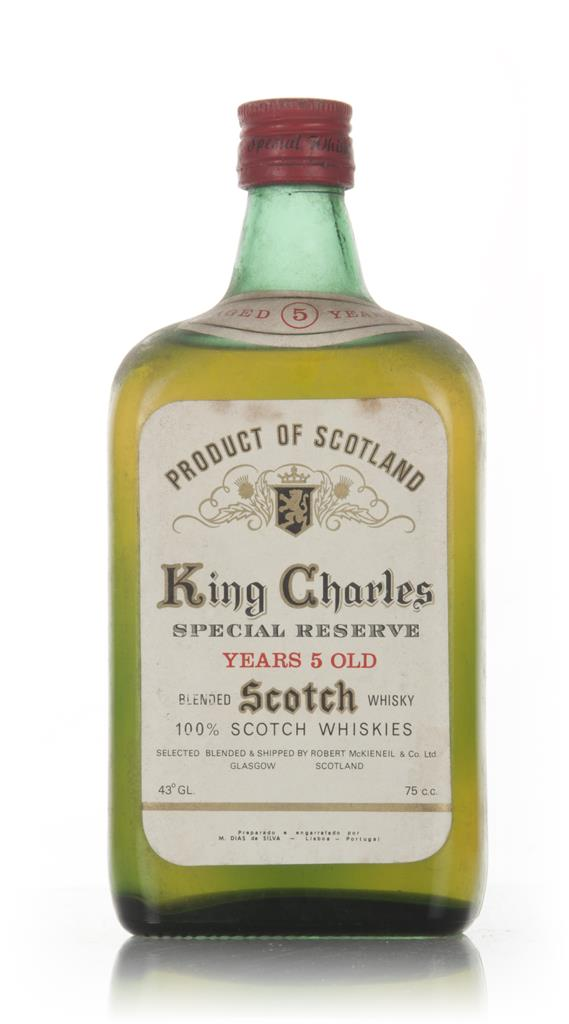 King Charles 5 Year Old - 1960s Blended Whisky
