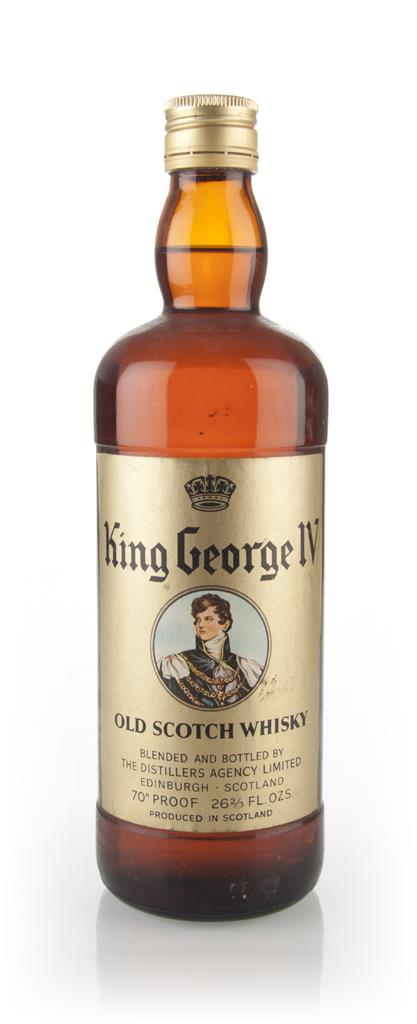 King George IV - 1970s Blended Whisky