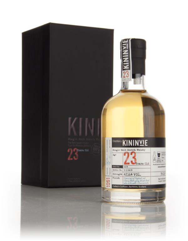 Kininvie 23 Year Old 1991 (Batch 3) Single Malt Whisky
