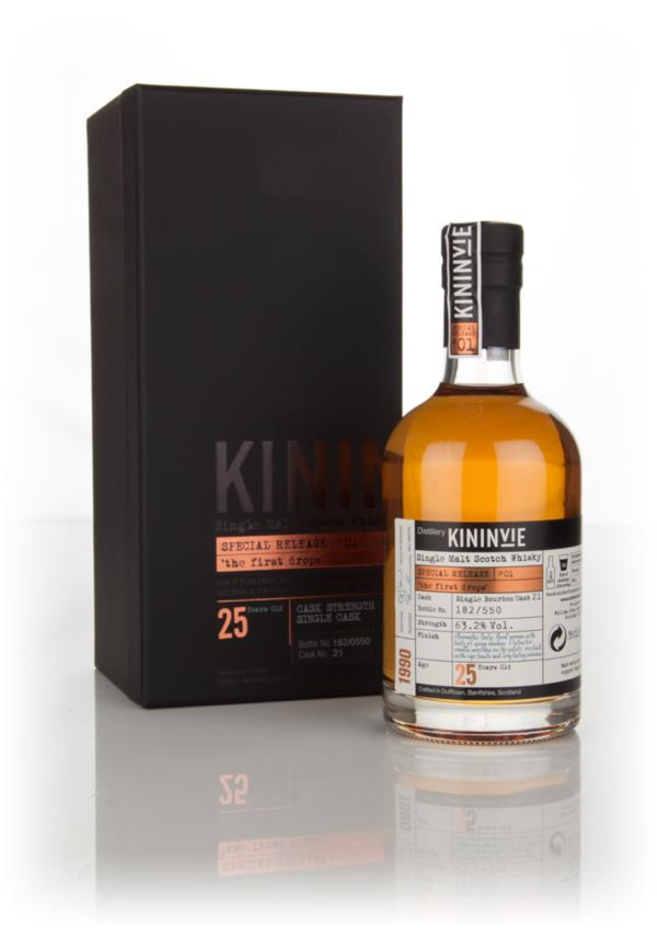 Kininvie 25 Year Old 1990 (cask 21) - The First Drops (Special Relea Single Malt Whisky 3cl Sample