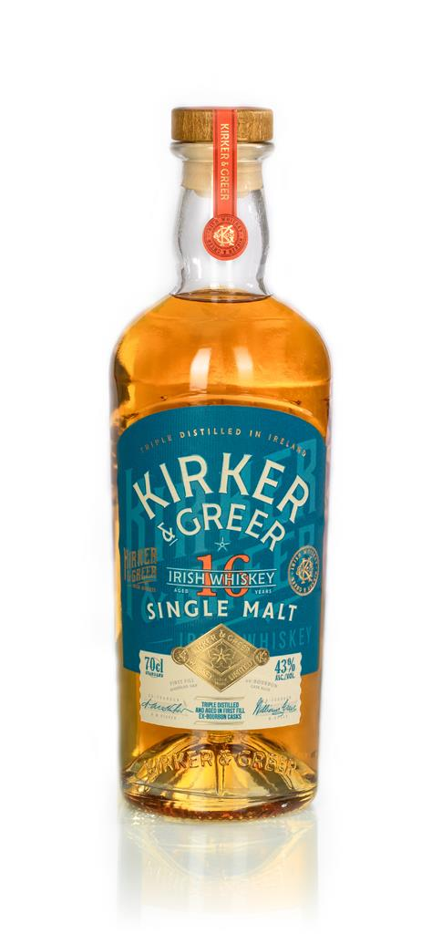 Kirker & Greer 16 Year Old Single Malt Whiskey