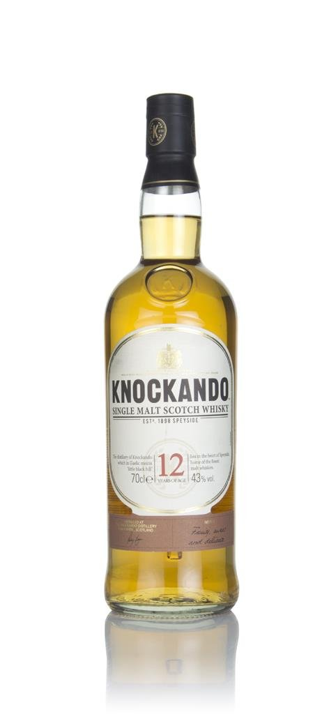 Knockando 12 Year Old Single Malt Whisky