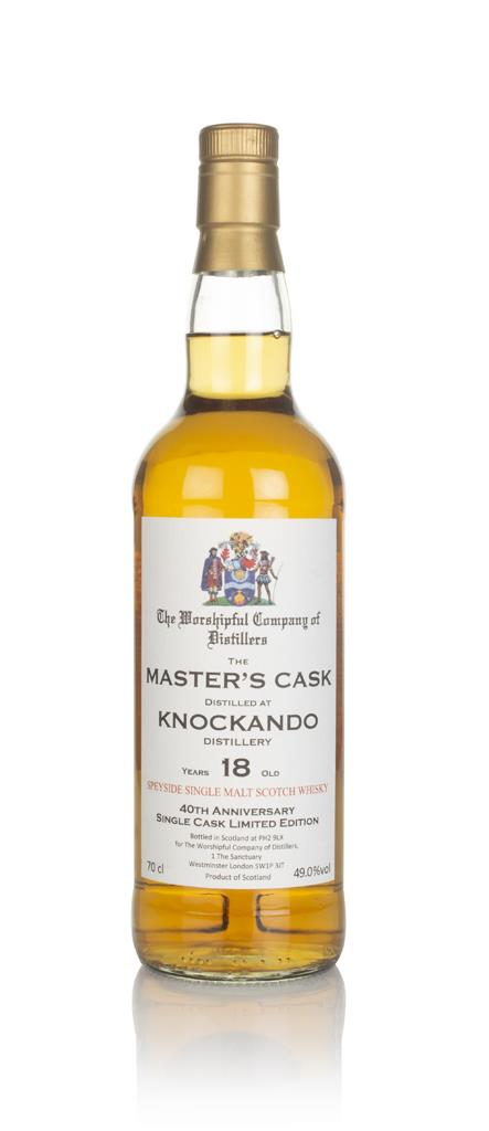 Knockando 18 Year Old - Masters Cask (The Worshipful Company of Disti Single Malt Whisky