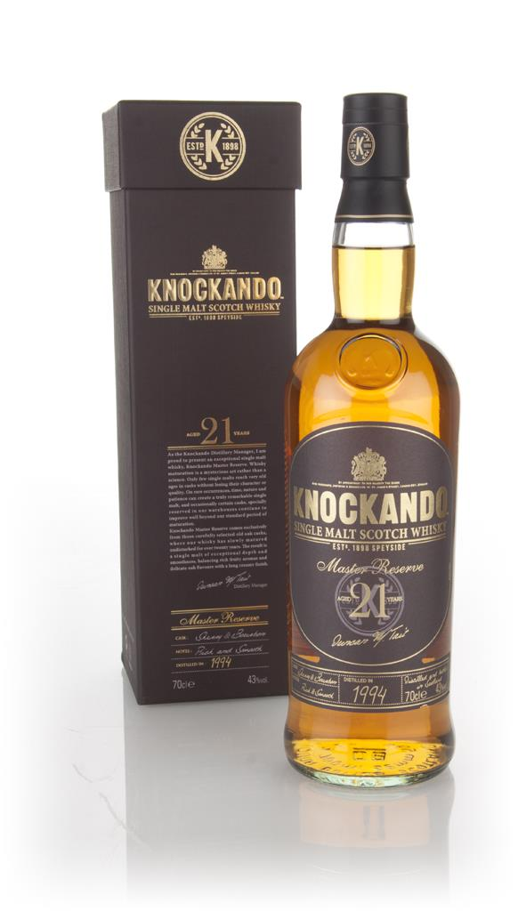 Knockando 21 Year Old 1994 Master Reserve Single Malt Whisky