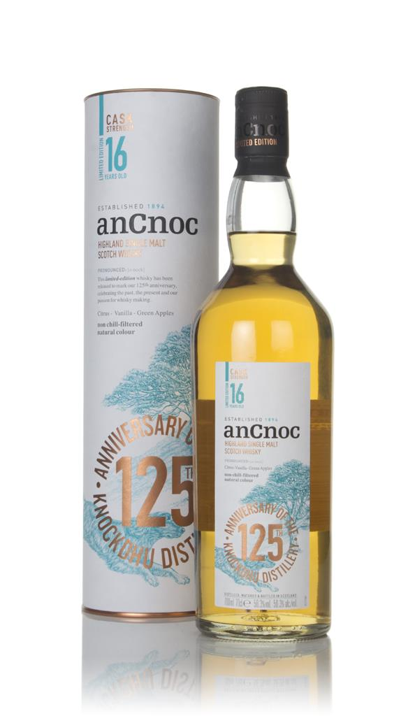anCnoc 16 Year Old Cask Strength Single Malt Whisky