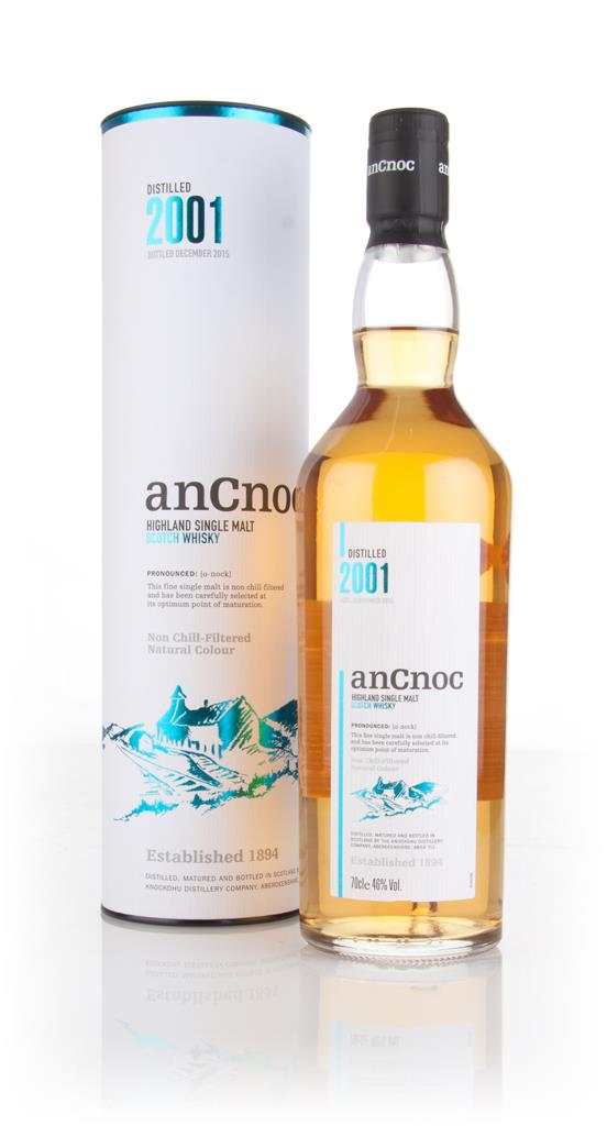 anCnoc 2001 Single Malt Whisky