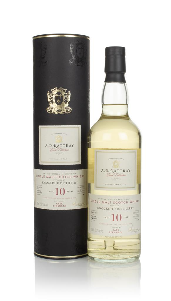 Knockdhu 10 Year Old 2009 (cask 2) - Cask Collection (A.D. Rattray) Single Malt Whisky