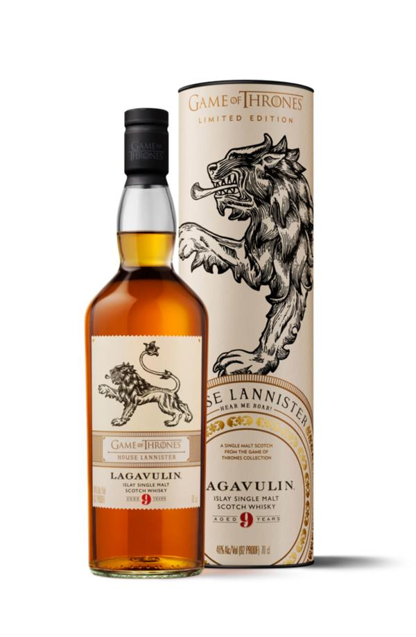 House Lannister & Lagavulin 9 Year Old - Game of Thrones Single Malts Single Malt Whisky