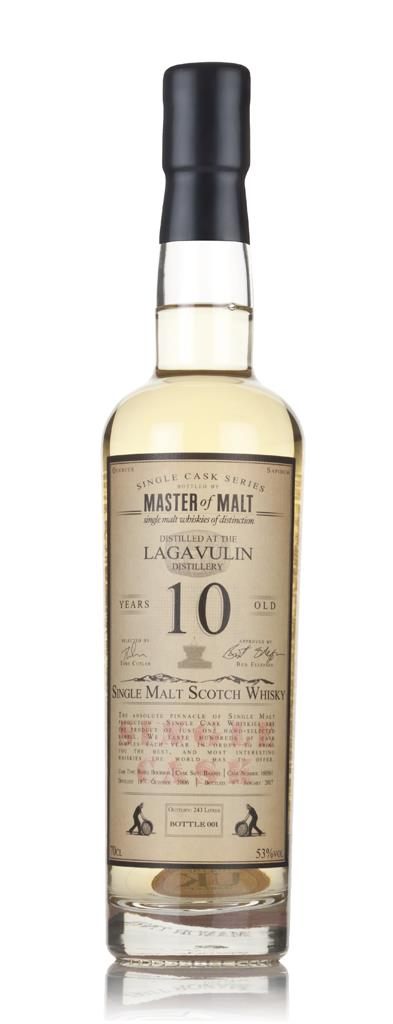 Lagavulin 10 Year Old 2006 - Single Cask (Master of Malt) 3cl Sample Single Malt Whisky