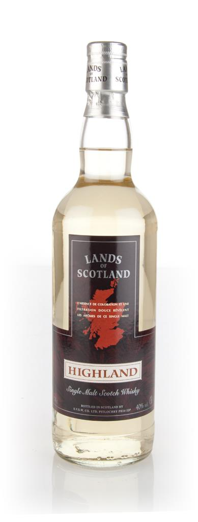 Lands of Scotland Highland Single Malt Whisky