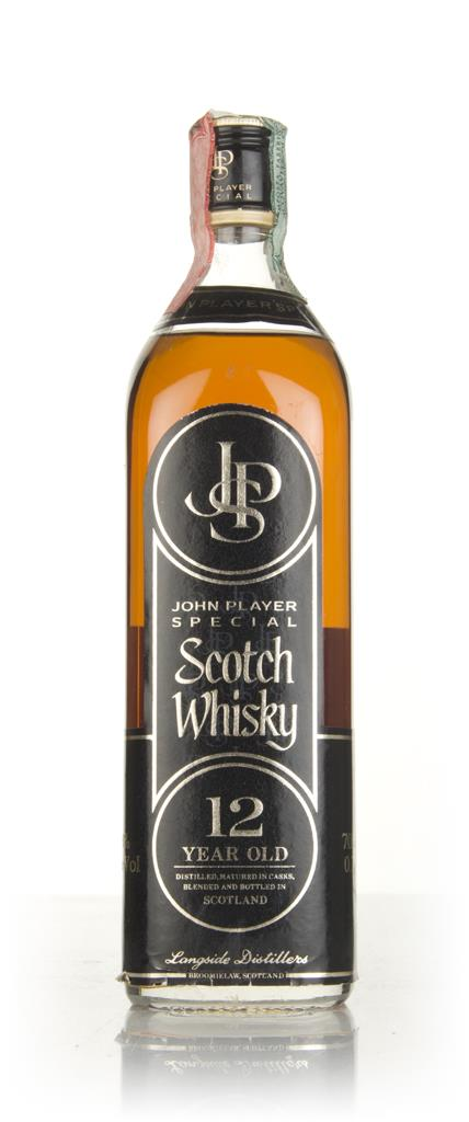 John Player 12 Year Old - 1970s Blended Whisky
