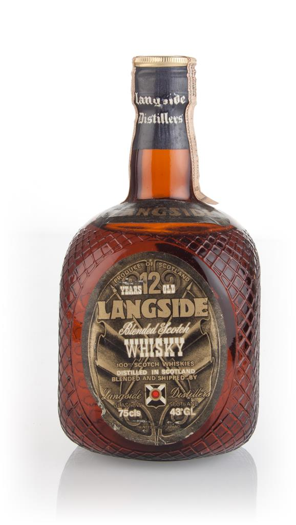 Langside 12 Year Old - 1970s Blended Whisky