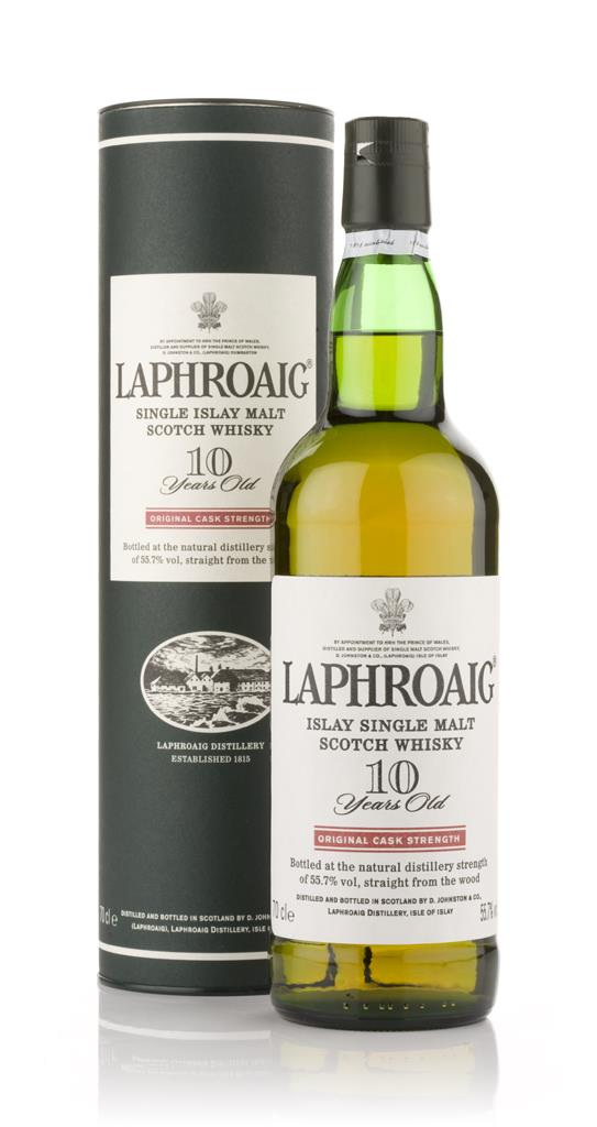 Laphroaig 10 Year Old Cask Strength Single Malt Whisky