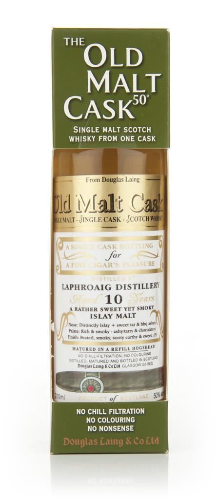 Laphroaig 10 Year Old 2001 - Old Malt Cask - Cigar Malt (Douglas Laing Single Malt Whisky