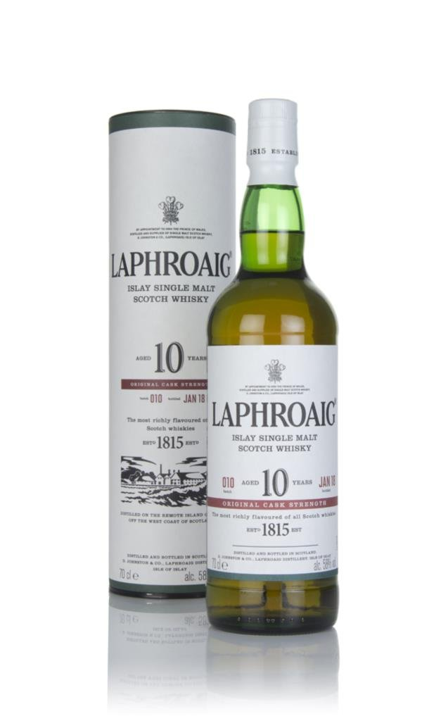 Laphroaig 10 Year Old Cask Strength - Batch 010 3cl Sample Single Malt Whisky