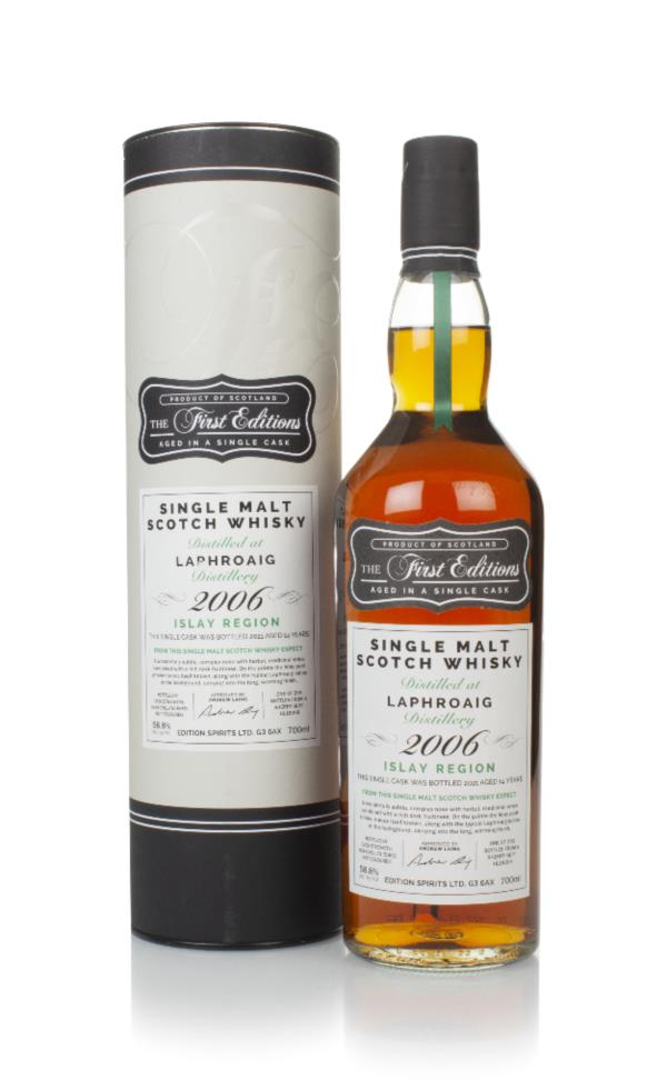 Laphroaig 14 Year Old 2006 (cask 18209) - The First Editions (Hunter L Single Malt Whisky