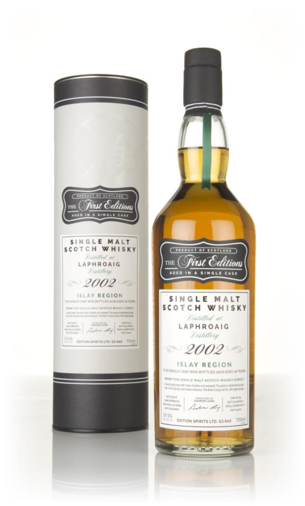 Laphroaig 16 Year Old 2002 (cask 15101) - The First Editions (Hunter L Single Malt Whisky