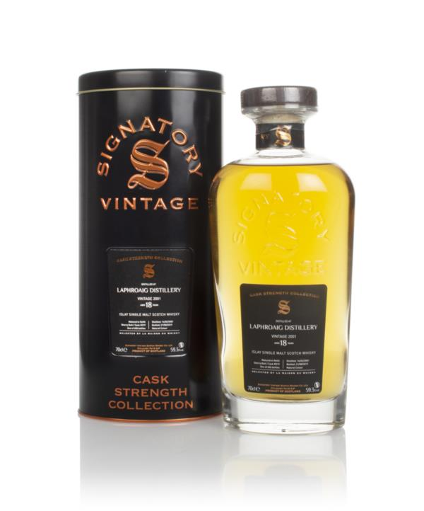 Laphroaig 18 Year Old 2001 (cask 319) - Cask Strength Collection (Sign Single Malt Whisky