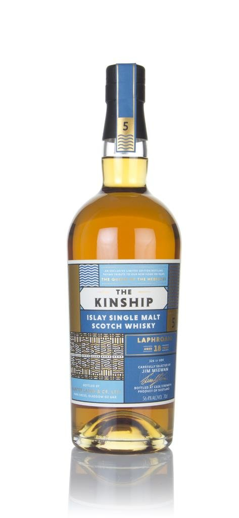 Laphroaig 18 Year Old - The Kinship (Hunter Laing) Single Malt Whisky