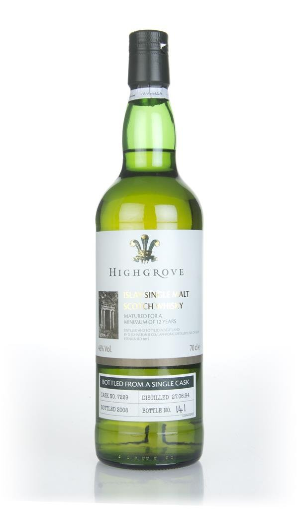 Laphroaig 1994 (bottled 2008) (cask 7229) - Highgrove Single Malt Whisky