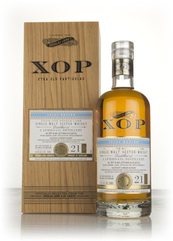 Laphroaig 21 Year Old 1996 (cask 11990) - Xtra Old Particular (Douglas Single Malt Whisky