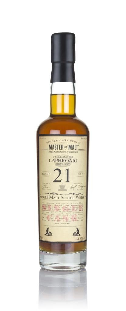 Laphroaig 21 Year Old 1997 - Single Cask (Master of Malt) Single Malt Whisky