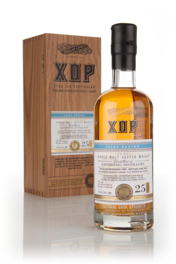 Laphroaig 25 Year Old 1989 (cask 10798) - Xtra Old Particular (Douglas Single Malt Whisky 3cl Sample