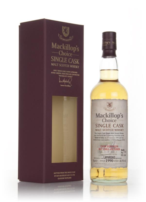Laphroaig 25 Year Old 1990 (cask 11729) - Mackillops Choice Single Malt Whisky