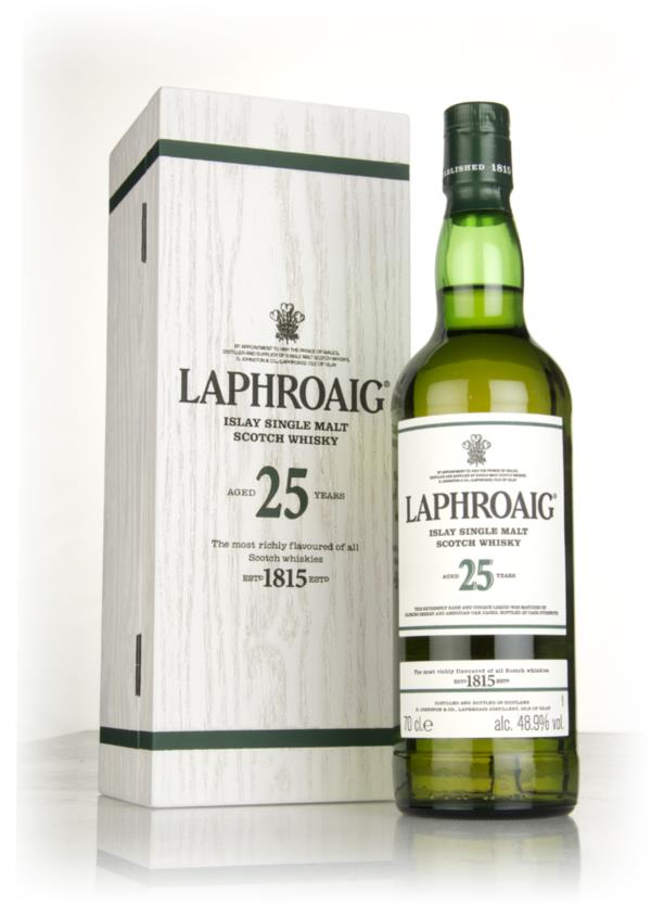 Laphroaig 25 Year Old Cask Strength (2017 Release) 3cl Sample Single Malt Whisky