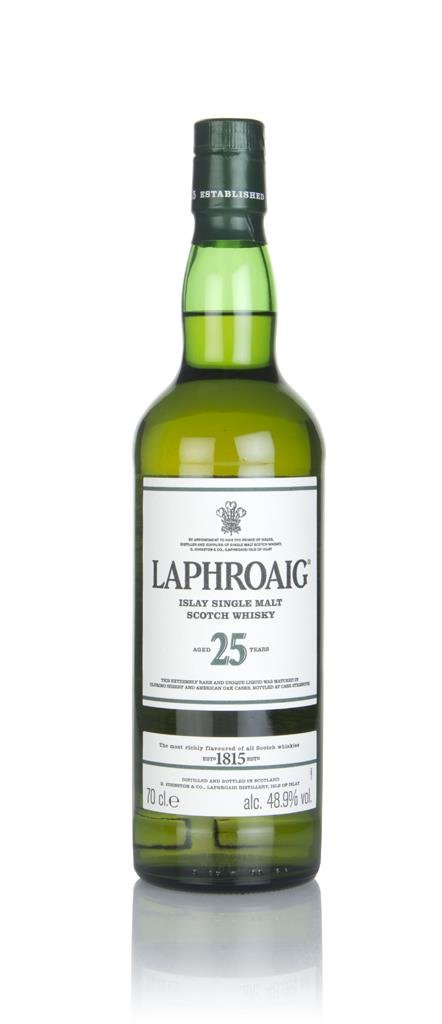 Laphroaig 25 Year Old Cask Strength (2017 Release) (without Presentati Single Malt Whisky