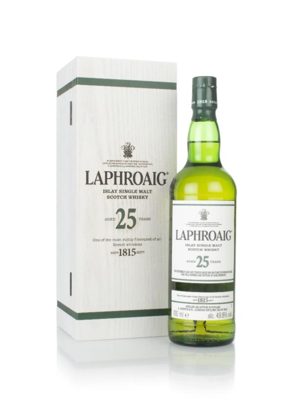 Laphroaig 25 Year Old Cask Strength (2018 Release) Single Malt Whisky