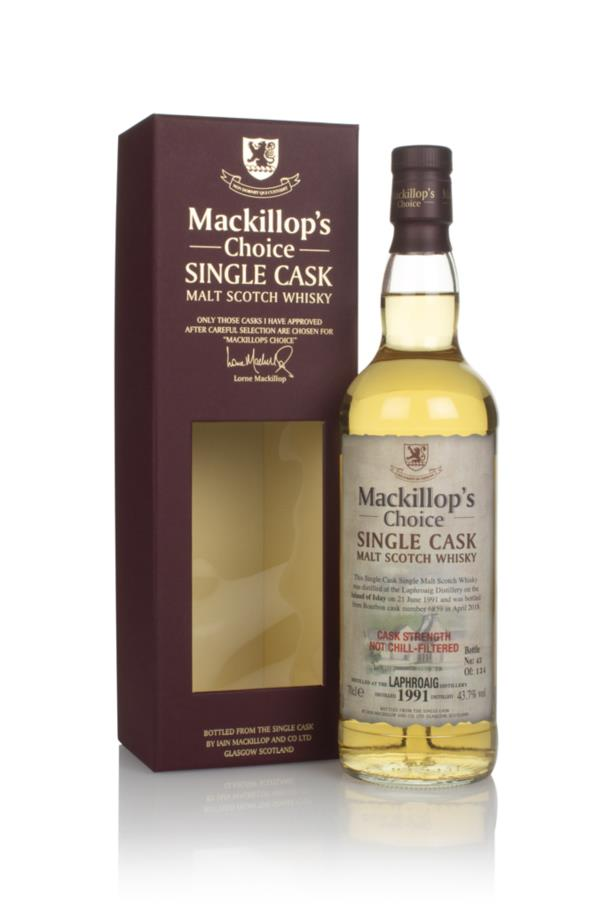Laphroaig 26 Year Old 1991 (cask 6859) - Mackillops Choice Single Malt Whisky