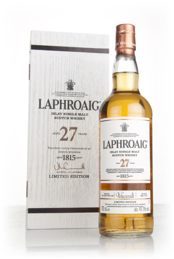 Laphroaig 27 Year Old 3cl Sample Single Malt Whisky