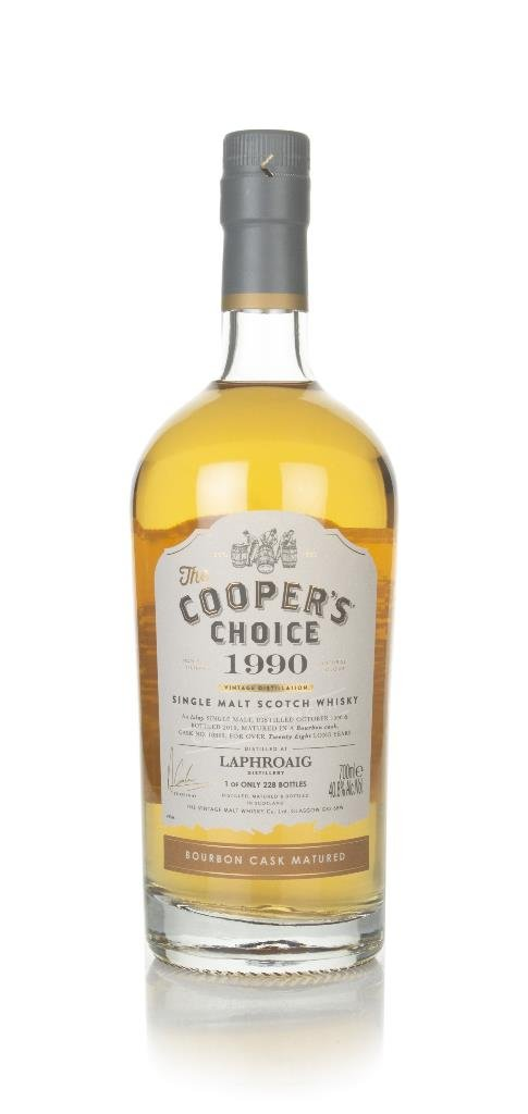 Laphroaig 28 Year Old 1990 (cask 10869) - The Cooper's Choice (The Vin Single Malt Whisky