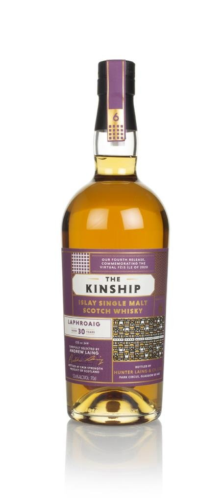 Laphroaig 30 Year Old - The Kinship (Hunter Laing) Single Malt Whisky