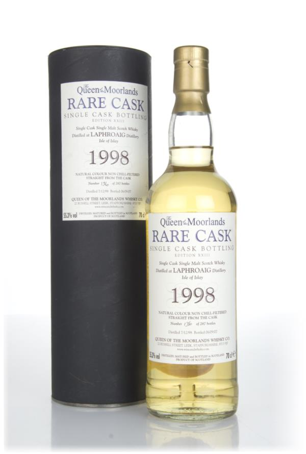 Laphroaig 8 Year Old 1998 - The Queen of the Moorlands Single Malt Whisky