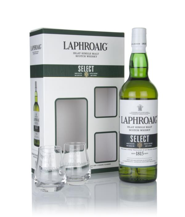Laphroaig Select Gift Pack with 2x Glasses Single Malt Whisky