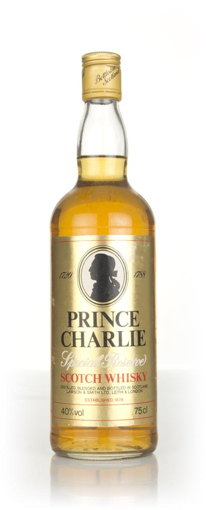 Prince Charlie Special Reserve 40% - 1970s Blended Whisky