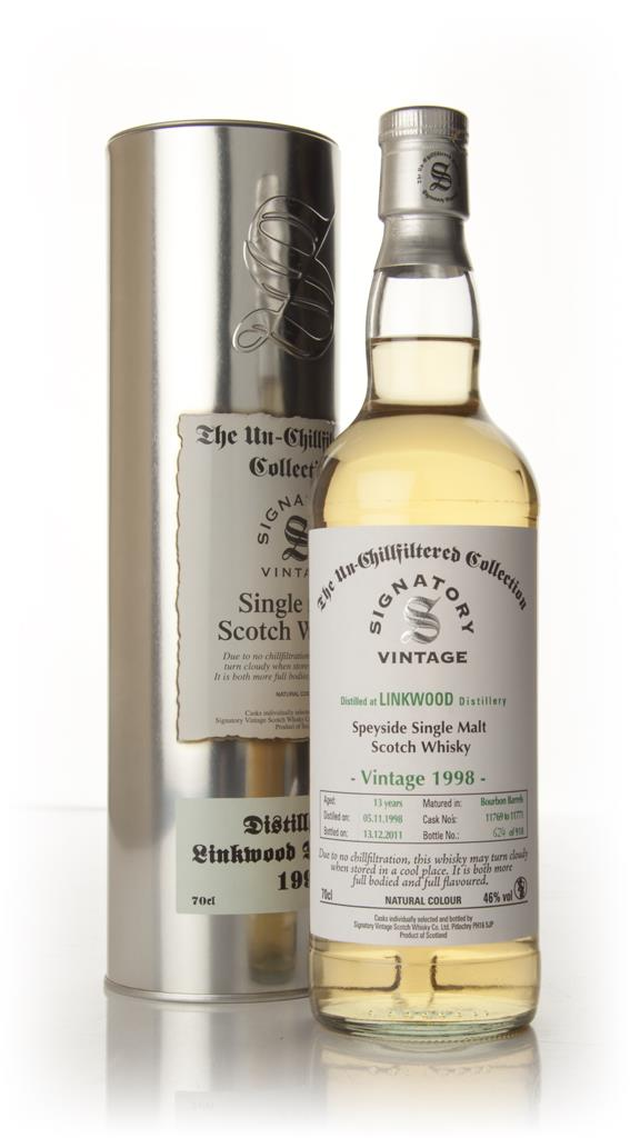 Linkwood 13 Year Old 1998 - Un-Chillfiltered (Signatory) Single Malt Whisky