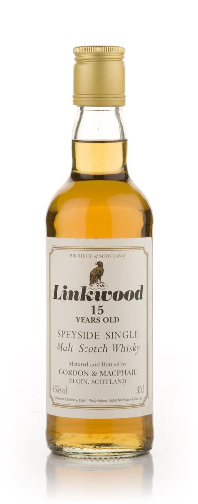 Linkwood 15 Year Old 35cl (Gordon and MacPhail) Single Malt Whisky