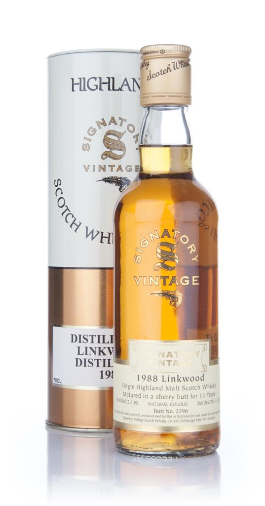 Linkwood 1988 35cl (Signatory) Single Malt Whisky