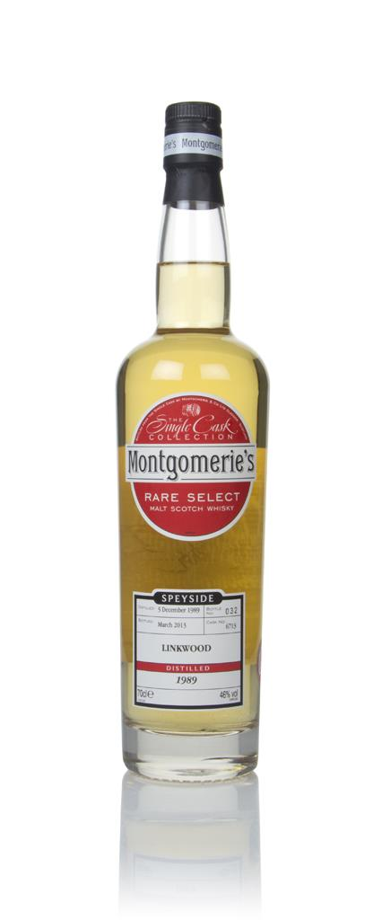 Linkwood 23 Year Old 1989 (cask 6713) - Rare Select (Montgomeries) Single Malt Whisky