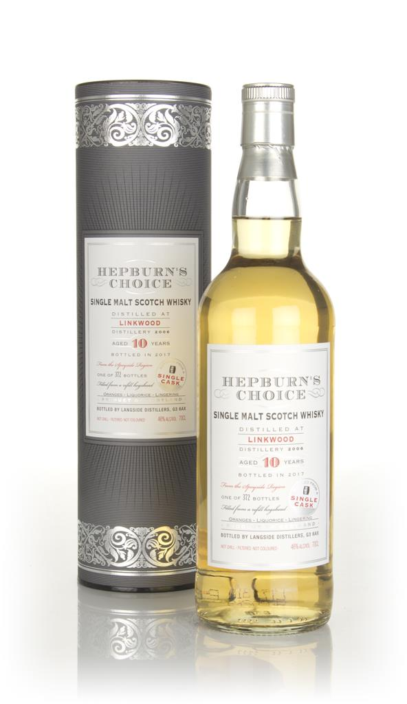 Linkwood 10 Year Old 2006 (bottled 2017) - Hepburns Choice (Langside) Single Malt Whisky