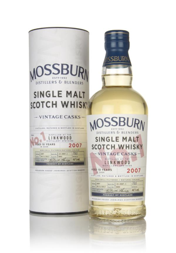 Linkwood 10 Year Old 2007 - Vintage Casks (Mossburn) Single Malt Whisky