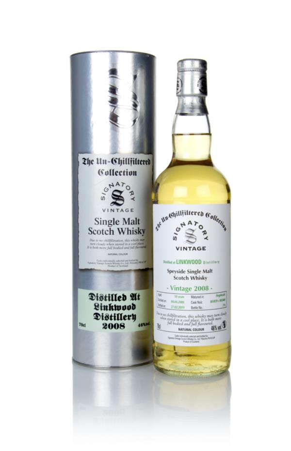 Linkwood 10 Year Old 2008 (casks 803839 & 803840) - Un-Chillfiltered C Single Malt Whisky