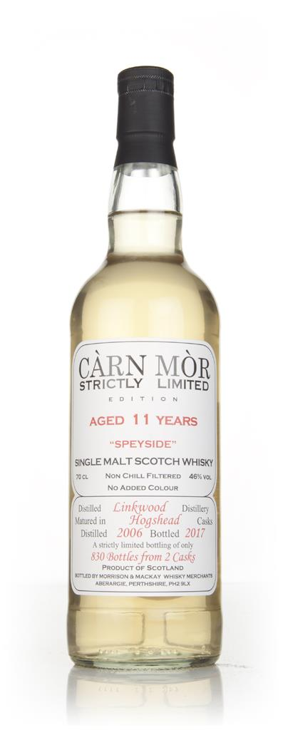 Linkwood 11 Year Old 2006 - Strictly Limited (Carn Mor) Single Malt Whisky