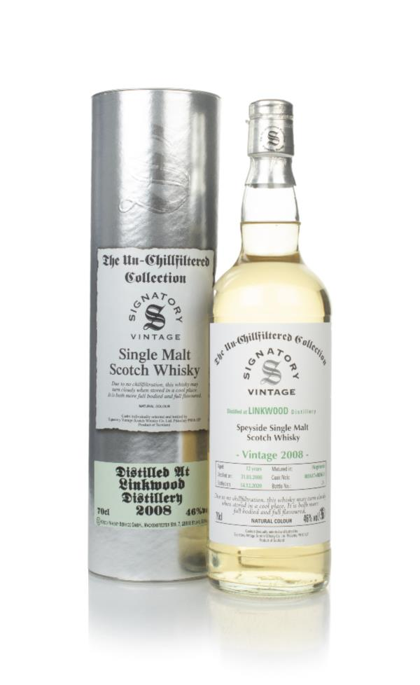 Linkwood 12 Year Old 2008 (casks 803617 & 803618) - Un-Chillfiltered C Single Malt Whisky