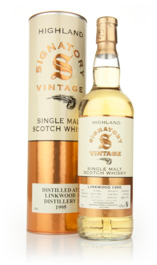 Linkwood 16 Year Old 1995 (Signatory) Single Malt Whisky