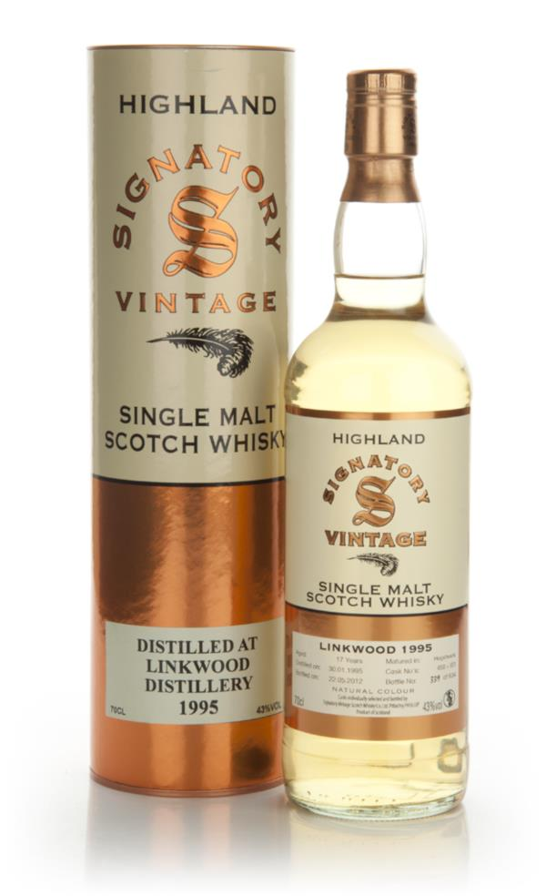 Linkwood 17 Year Old 1995 (Signatory) Single Malt Whisky