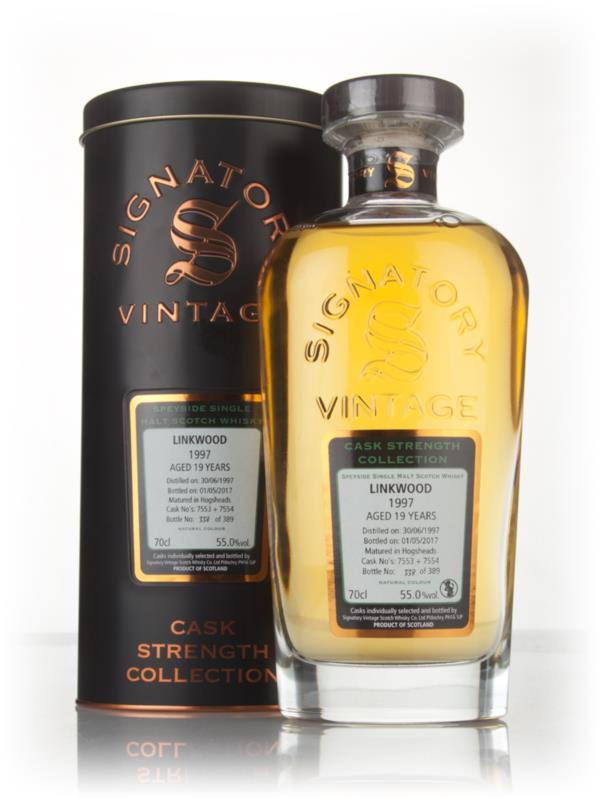 Linkwood 19 Year Old 1997 (cask 7553 & 7554) - Cask Strength Collectio Single Malt Whisky